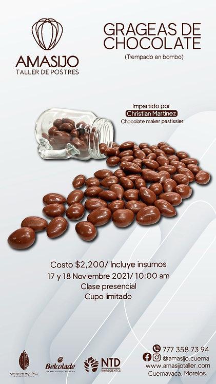 Curso Práctico Presencial - Grageas de Chocolate