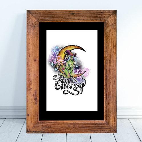 Big Witch Energy Art Print
