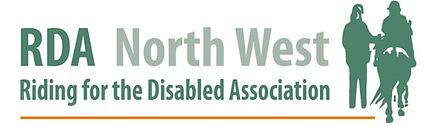RDA North West Region logo featuring pony, rider and helper