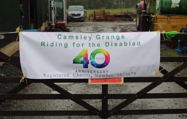 Happy 40th Birthday Camsley Grange!