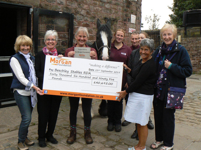 Beechley Stables RDA grant from Morgan Foundation