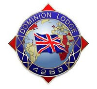 Thank you to Dominion Lodge No 4289