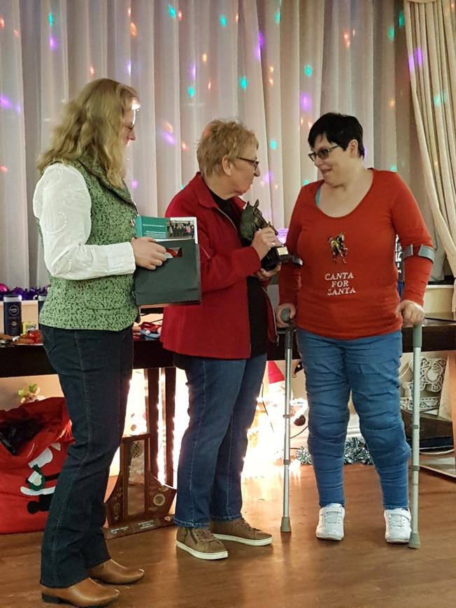 Mo Vesty wins Anne Thorpe Memorial Trophy