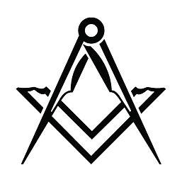 freemason logo white background[51582].j