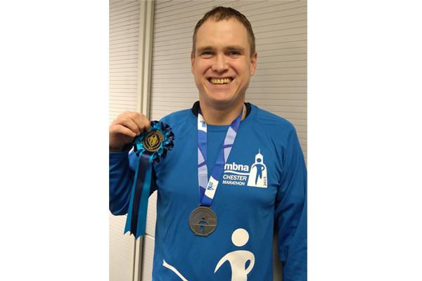 Marathon Man Raises £100 for Sandy Lane RDA
