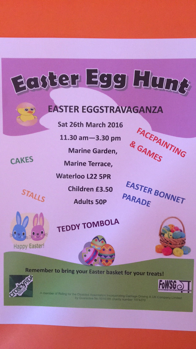 We are looking for donations of Easter eggs!