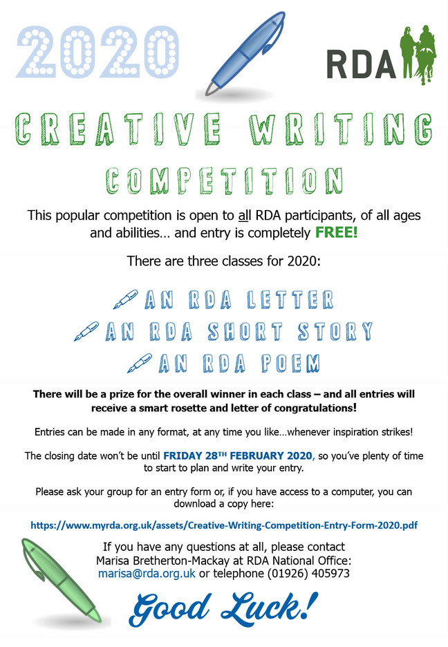 RDA Creative Writing Competition