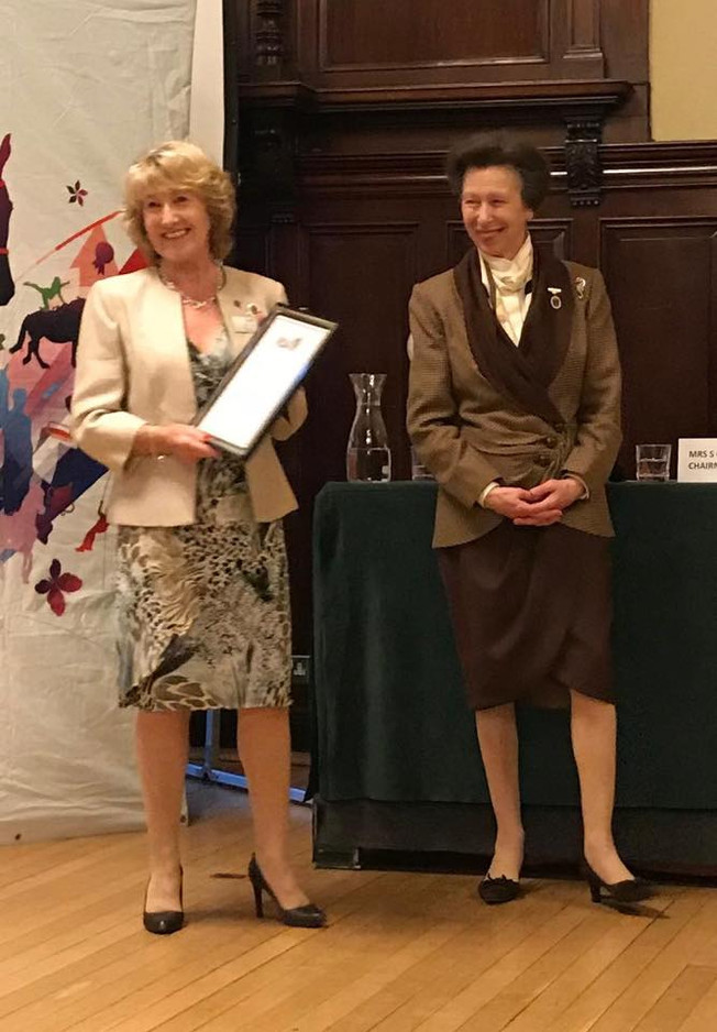 Sheila Saner made an Honorary Life Vice President of RDA
