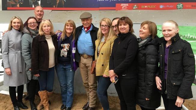 Saddleworth RDA meet Monty Roberts