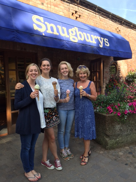 Fantastic donation for RDA North West from Snugbury's Ice Cream
