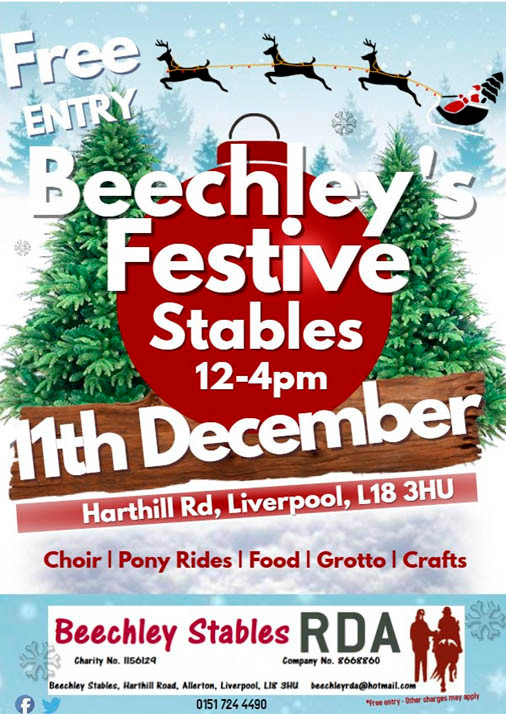 Beechley's Festive Stables