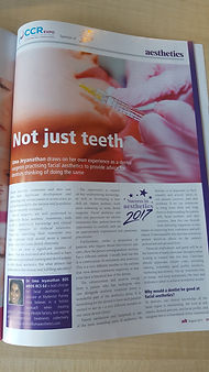 aesthetic dentistry article