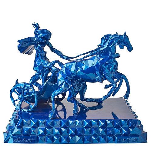 Apollon bleu metallic