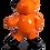 Thumbnail: Ours Orange Glossy  45cm Co. N°4