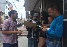 En Bogotá...