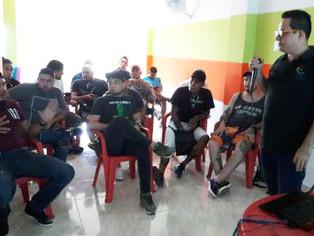 Así trabaja la Organización Acción Humanista con Tatuadores y Piercers de la ciudad de Barranquilla