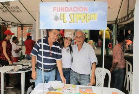 Actividades de la fundación Shaddai, en Pitalito