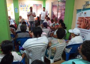 412 adultos mayores participaron en jornada de prevención de la hepatitis C