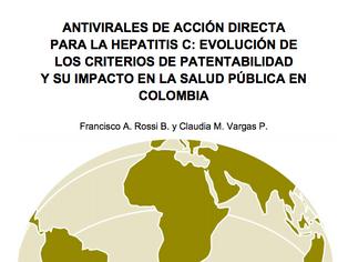 Antivirales de acción directa para la hepatitis c: evolución de los criterios de patentabilidad y