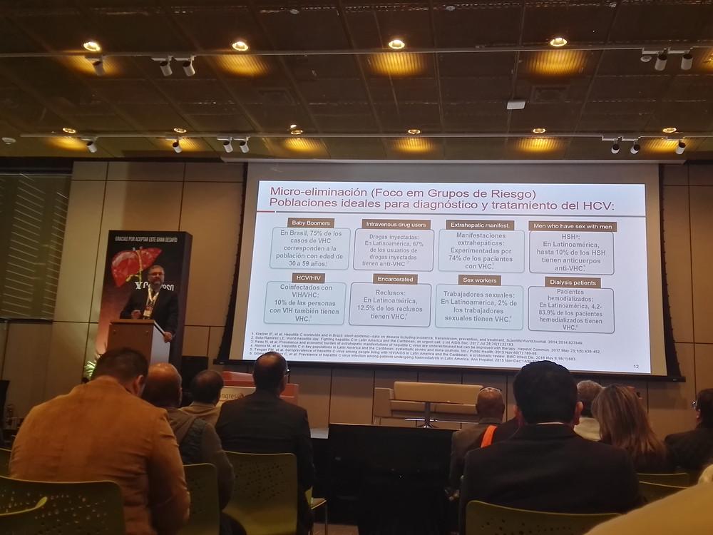 Congreso Internacional de Hepatología, Bogotá - 2019