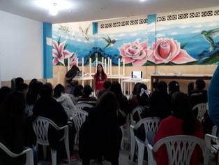 Con actividades lúdicas la asociación Gapomaro habló de hepatitis C con sus comunidades