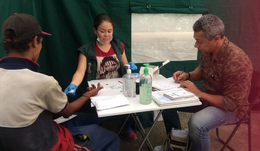 La corporación Teméride realiza actividades de promoción del diagnóstico en la población vulnerable