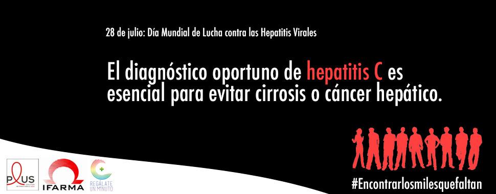 El diagnóstico oportuno de hepatitis C cuida tu salud
