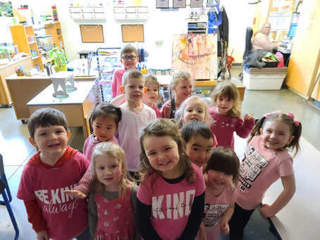 On Pink Shirt Day NCS students join anti-bullying movement