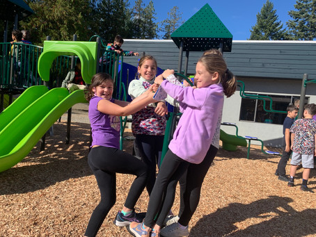 New playground opens on first day of school