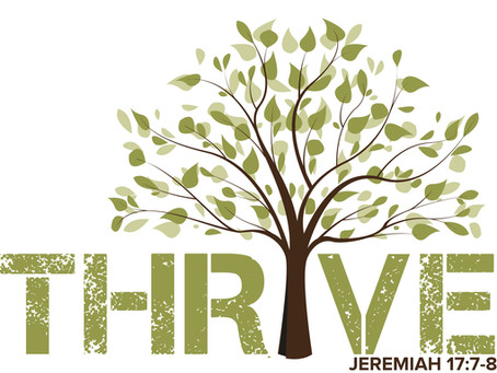 2020-21 school year theme: THRIVE