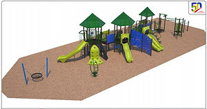 Playground rendering west facing_May 6 2