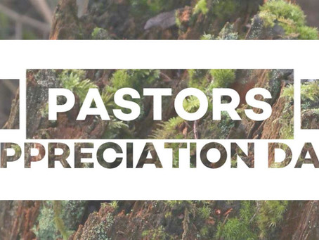 Invite your pastor to Pastors Appreciation Day May 27