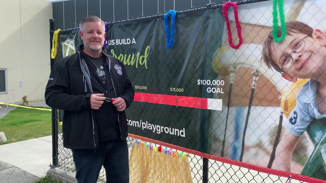 Your donations meet $100,000 playground fundraising goal!