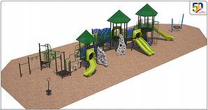 Playground rendering east facing_May 6 2
