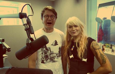 Radio Pookin haastattelussa