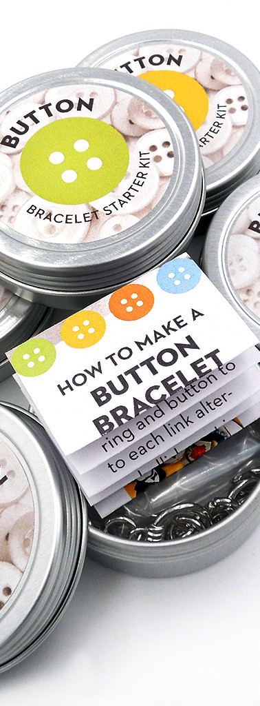 Button Bracelet Starter Kit