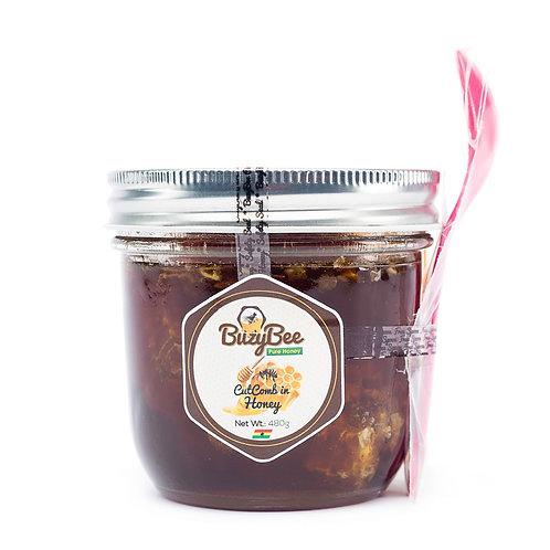 BuzyBee Cut Comb in Honey - 480g