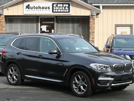 2020 BMW X3 30i xDrive Driving Assistance Package