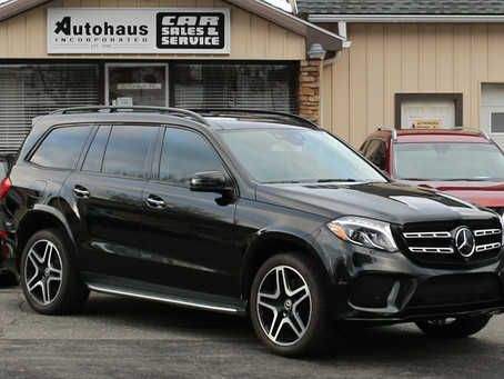 2018 Mercedes-Benz GLS 550