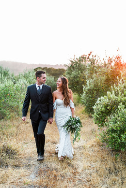 bride and groom tiber canyon ranch