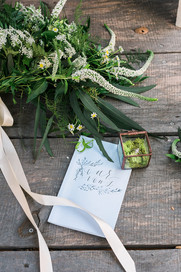 wedding details tiber canyon ranch
