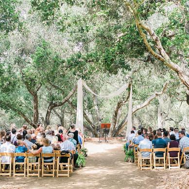 tiber canyon ranch wedding ceremony