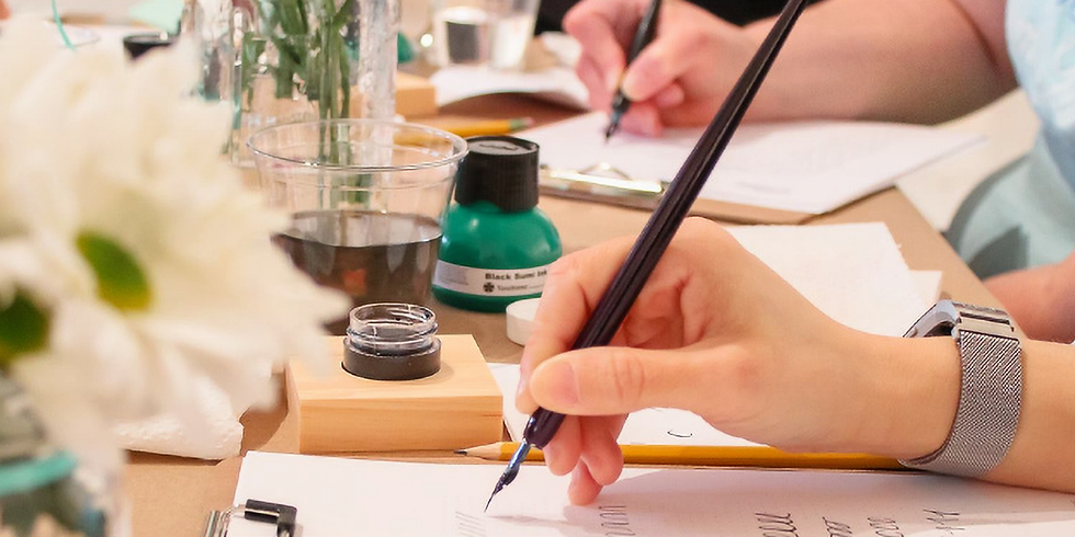 Sip & Scribe: Intro to Modern Calligraphy