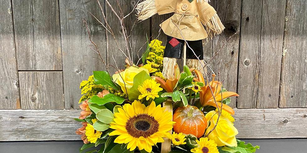 Wine & Floral Design: Fun Fall Florals