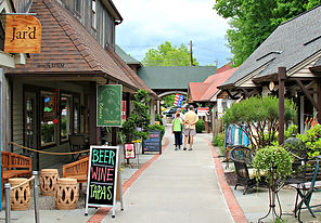Waterstreet market. A shopping center in New Paltz, NY, only 10 minutes from our bed and breakfast.