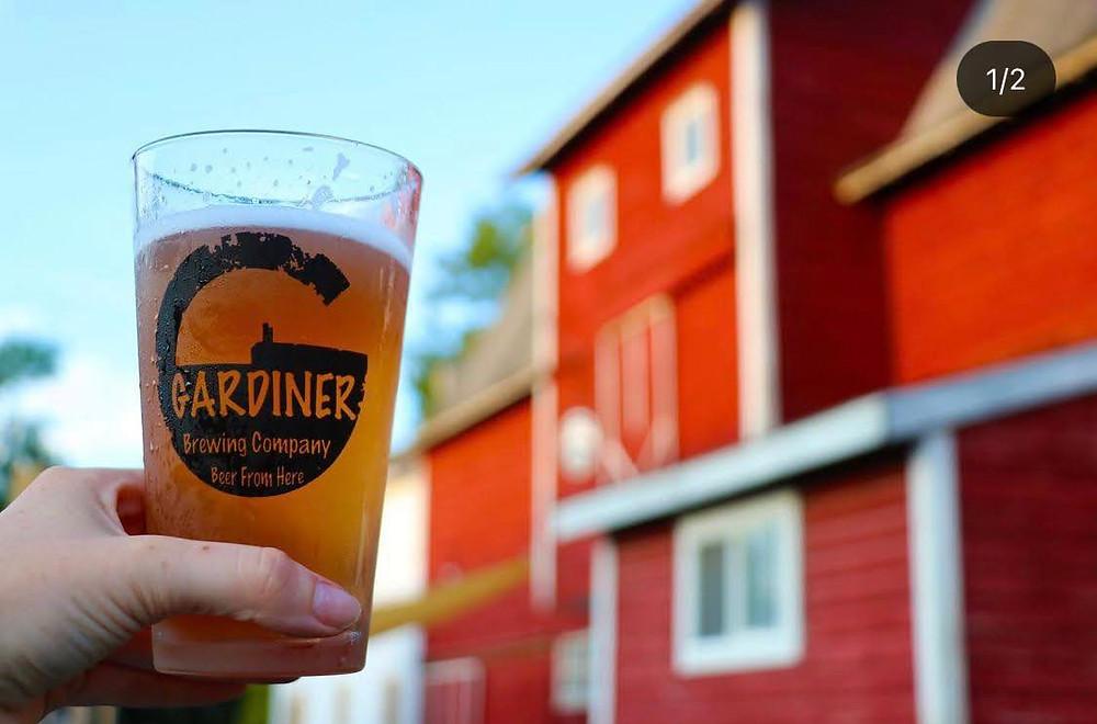 Gardiner Brewing Company at Wright's Farm