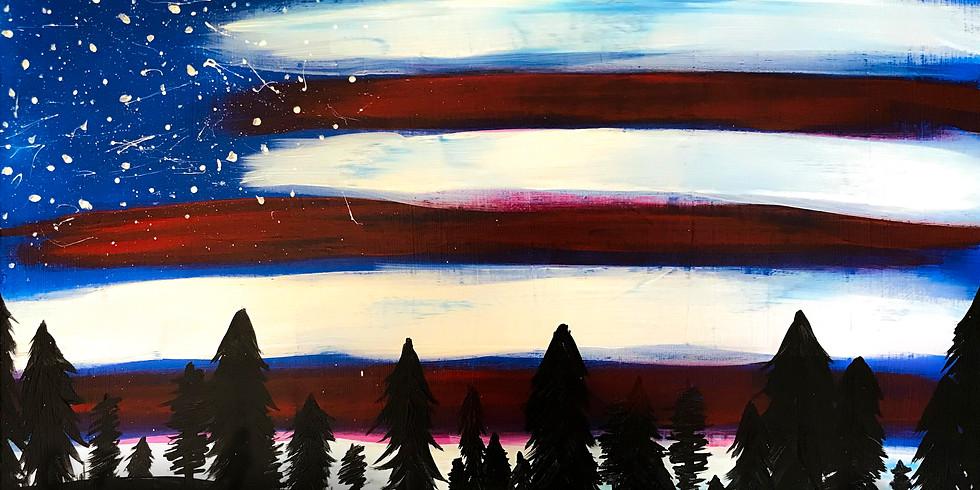 Paint & Sip: Patriotic Sky