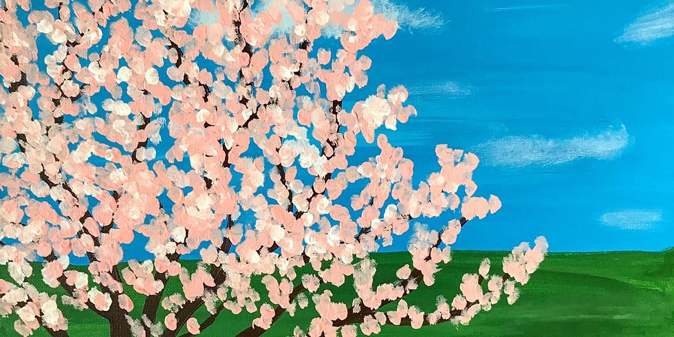 Paint & Sip: Magnolia Tree