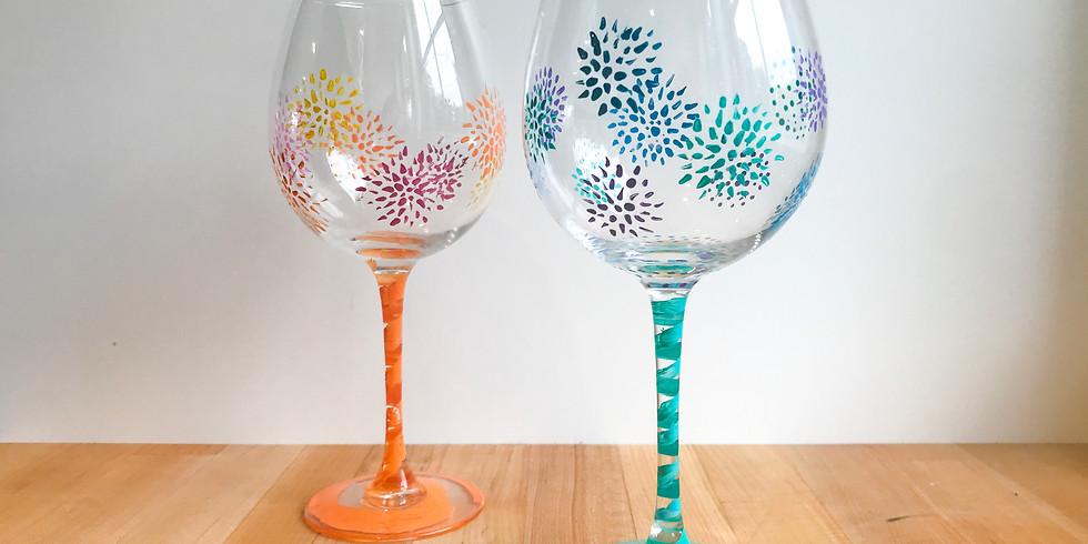 Paint & Sip: Wine Glasses