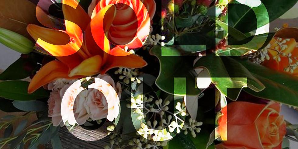 Wine & Floral Design: Thanksgiving Centerpiece